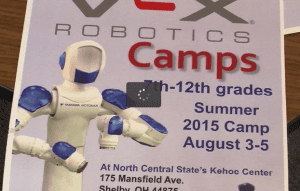 RAMTEC Robotics Camp Set For August in Richland County
