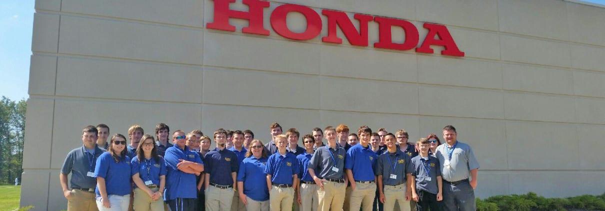 , TRCC RAMTEC Engineering Tech students visit Honda Training Center, Ramtec of Ohio